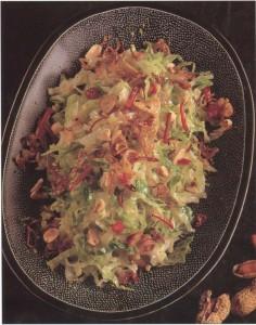 Тайский капустный салат