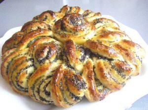 Пирог с маком «Бабушкина салфетка»