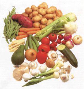 Овощи для салатов